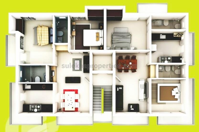 Apartment Flat for Rent in Kottivakkam Flat Rentals Kottivakkam