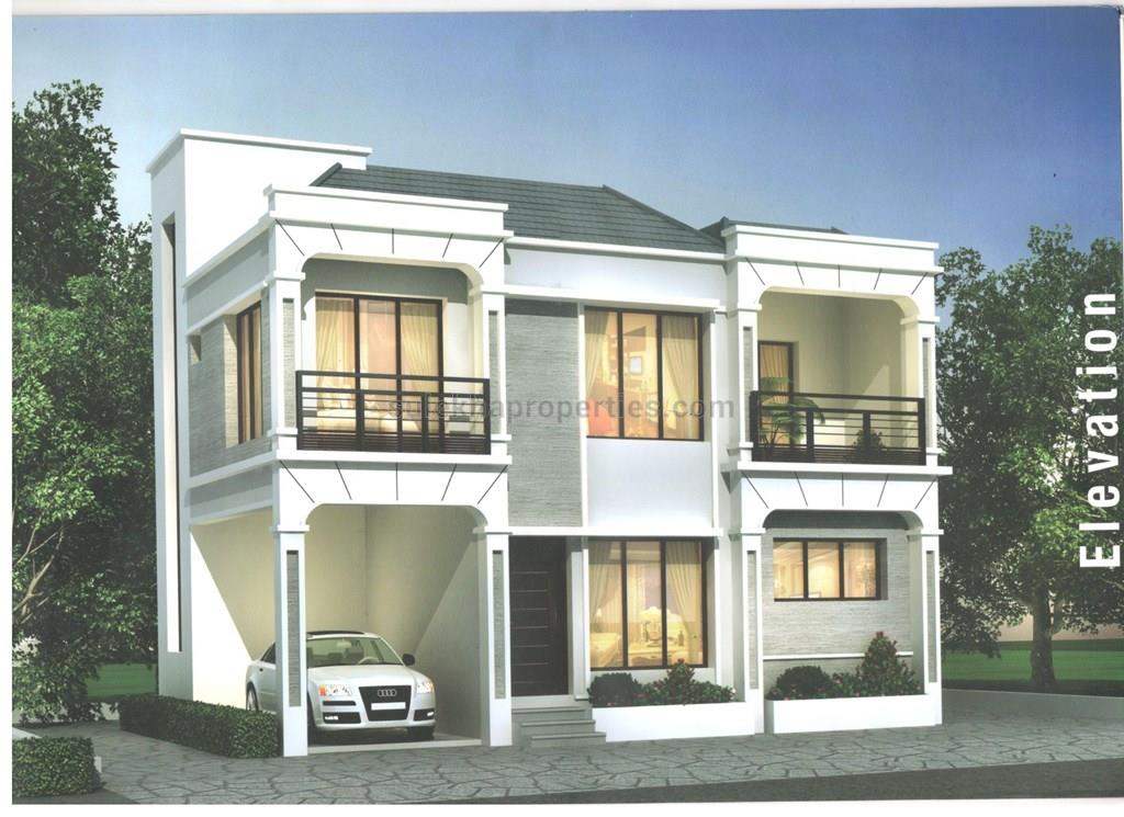 4 bhk independent house for sale in sdr homes vyasarpadi for Individual house models in chennai