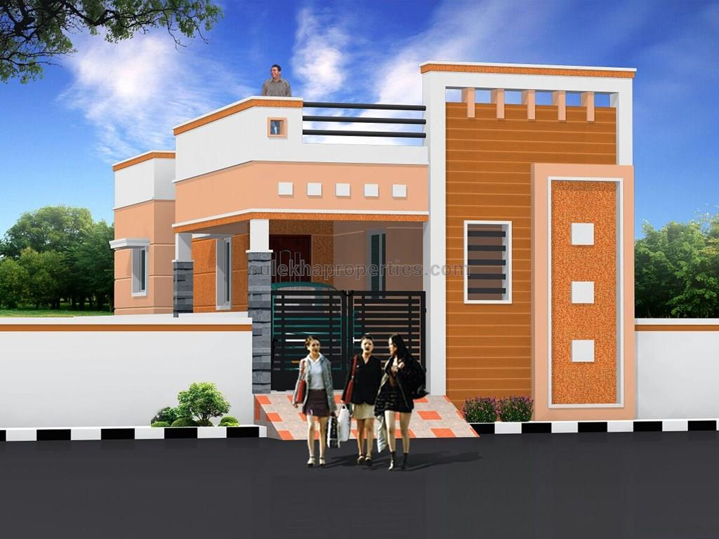 2 bhk independent house for sale in deluxe villa avadi for Individual house models in chennai