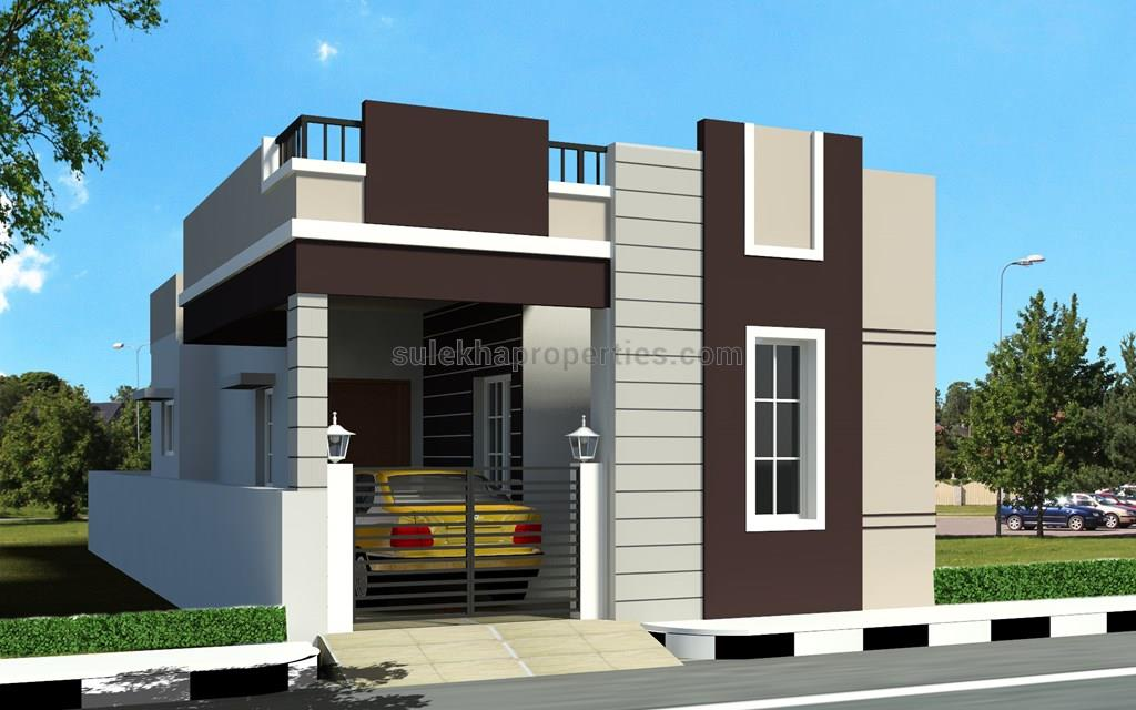 Bhk Floor Front Elevation : Bhk independent house for sale in deluxe villa