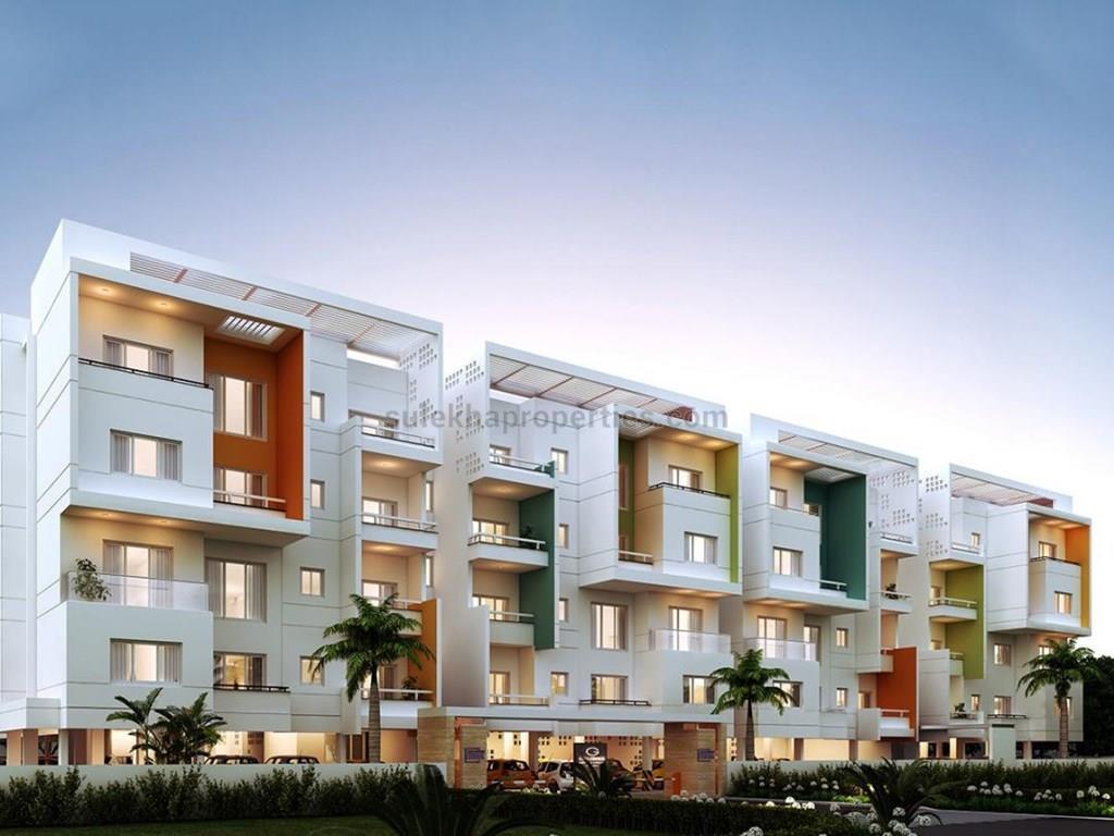 1116 Sqft 2 Bhk Apartment Flat For In Casagrand Esquire At Perungudi Chennai