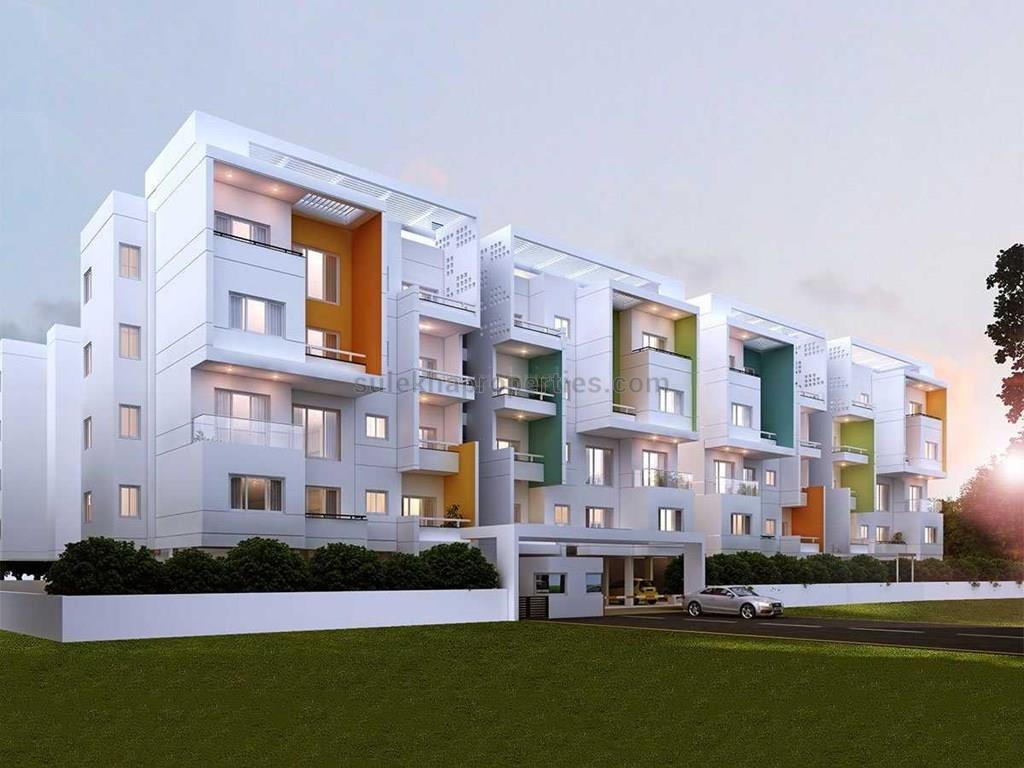 1554 Sqft 3 Bhk Apartment Flat For In Luxury Apartments At Perungudi Chennai