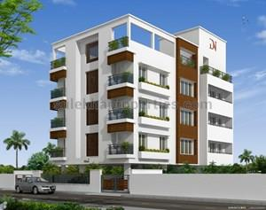 Flats for sale in sholinganallur chennai apartments for - Apartment exterior colour combination ...