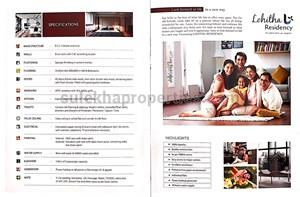 3 BHK Residential Apartment for Resale in Lohitha Residency