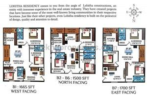 2 BHK Residential Apartment for Resale in Lohitha Residency