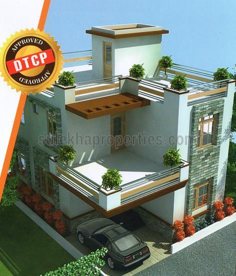 Artnlight Madras Terrace House Chennai: Praveen Homes In Guduvanchery, Chennai By Praveen Property