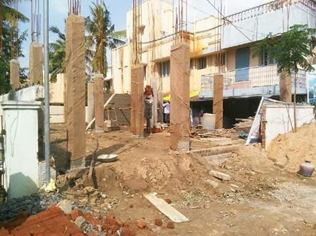 jkb sai sankara exterior view - Jkb Homes Floor Plans