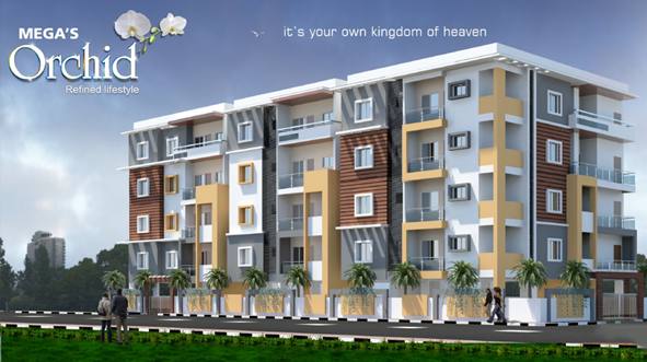 1060 Sqft 2 Bhk Apartment Flat For In Mega S Orchid At Whitefield Bangalore