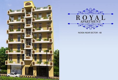 Royal Apartment Elevation Image