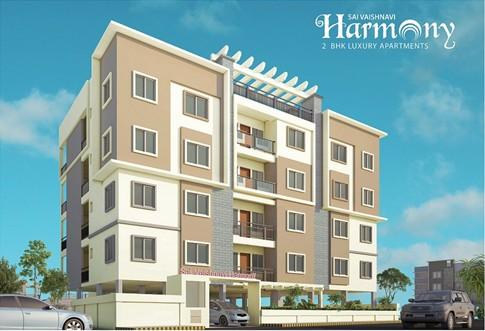 885 Sqft 2 Bhk Apartment Flat For In Sai Vaishnavi Harmony At Whitefield Bangalore