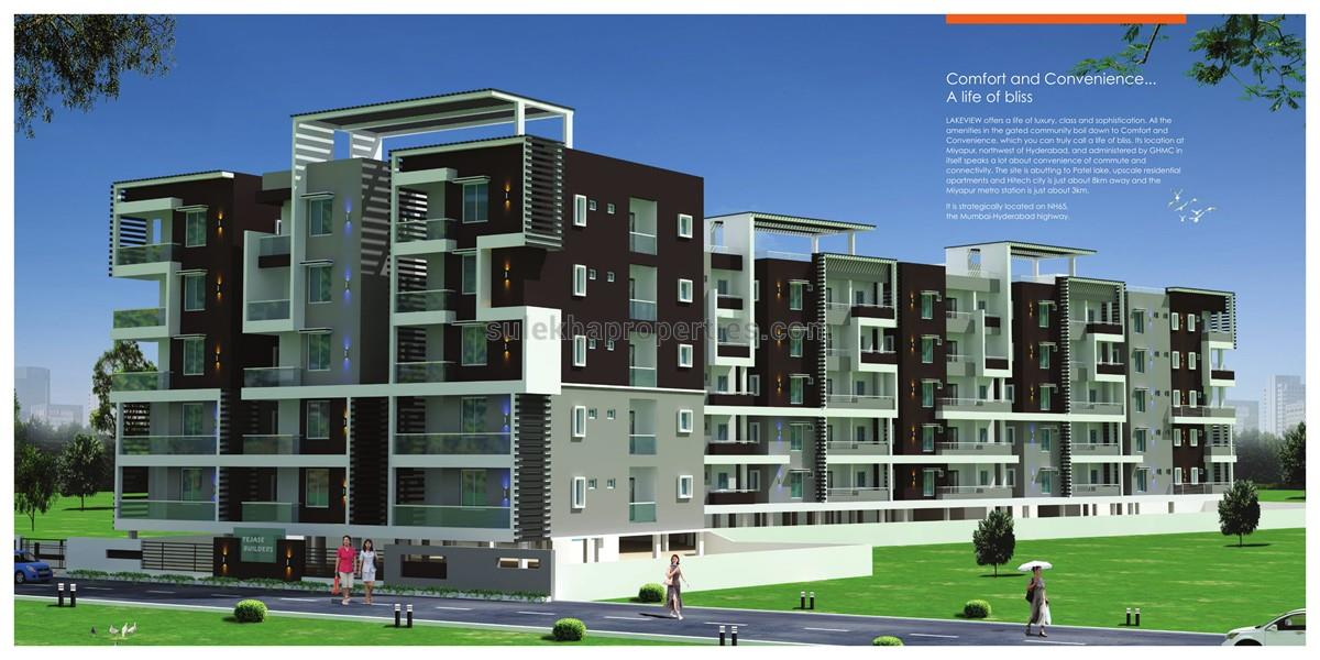Tejase S Lake View Is A Residential Project By Builders Developers In Miyapur Hyderabad