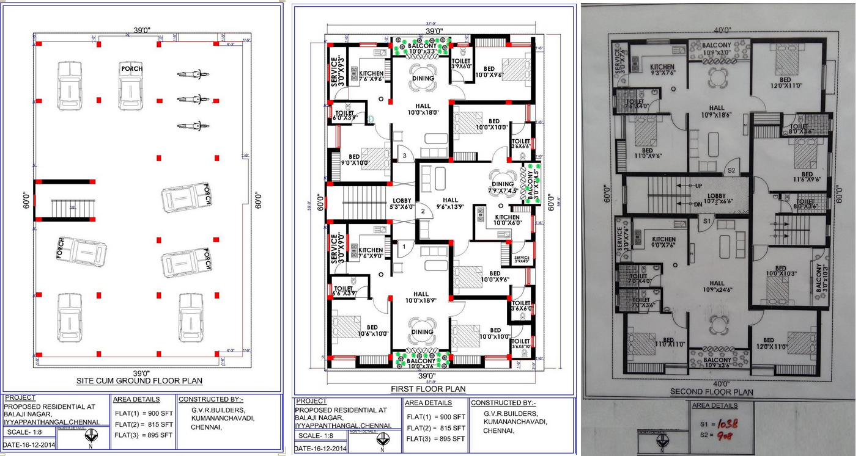 Gvr apartments in iyyappanthangal chennai by g v r for Apartment plans chennai
