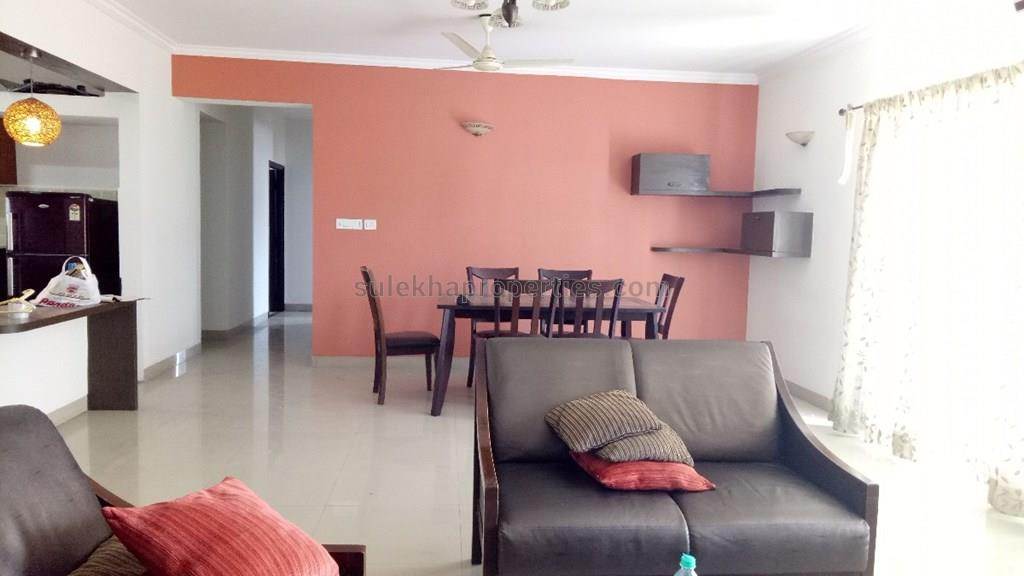 4 BHK Penthouse Apartment for Rent in T-zed Homes Whitefield ...