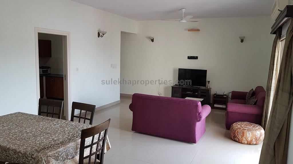 3 bhk apartment flat for rent in indira nagar bangalore 1900 sq