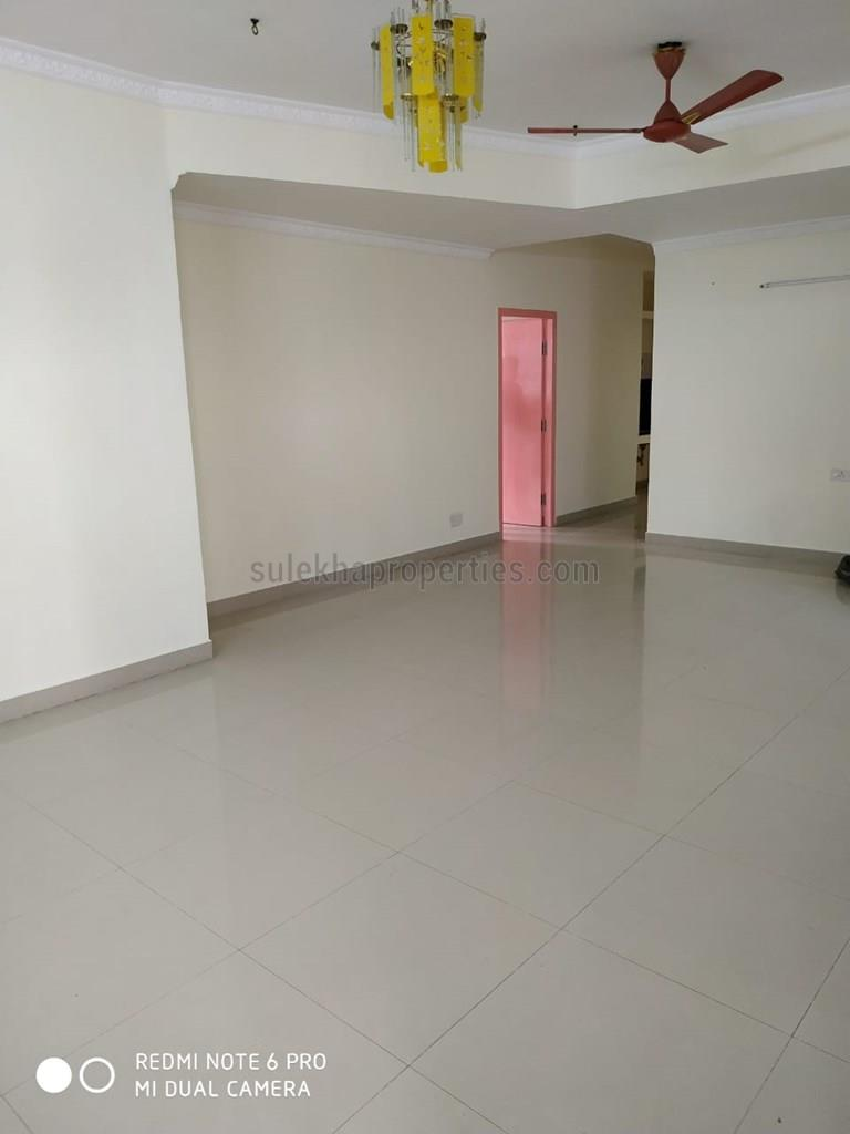 3 BHK Apartment / Flat for Rent in SREEVATSA AKSHARA Saibaba Colony